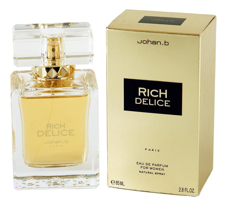 Johan B Rich Delice: парфюмерная вода 85мл herman johan robbers de vreemde plant