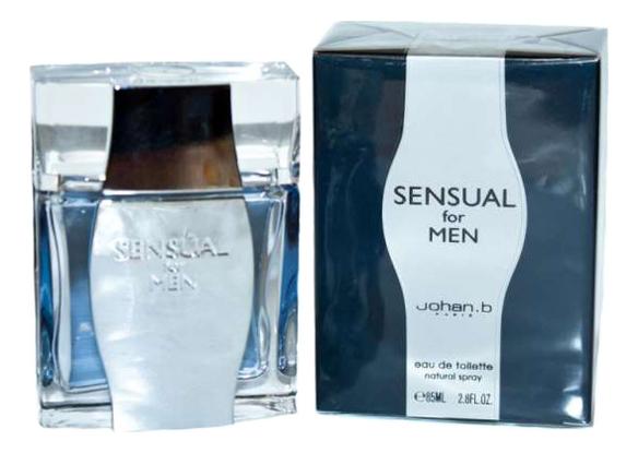 Johan B Sensual For Men: туалетная вода 85мл herman johan robbers de vreemde plant