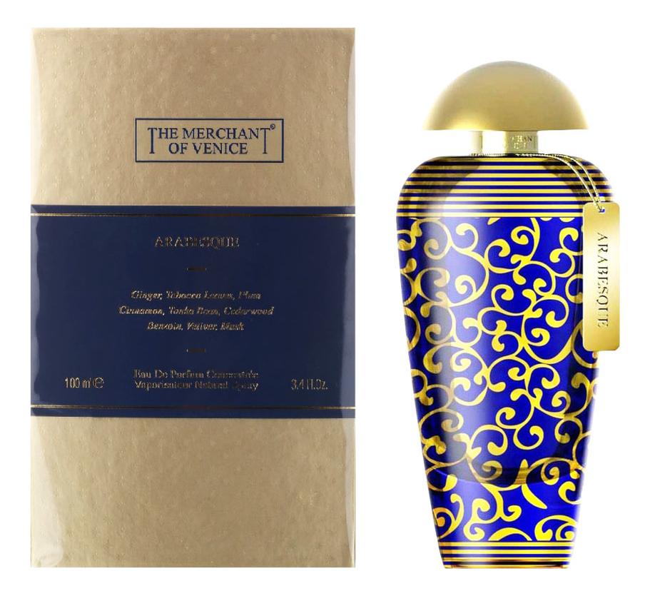 The Merchant Of Venice Arabesque : парфюмерная вода 100мл the merchant of venice light cotton eau de toilette