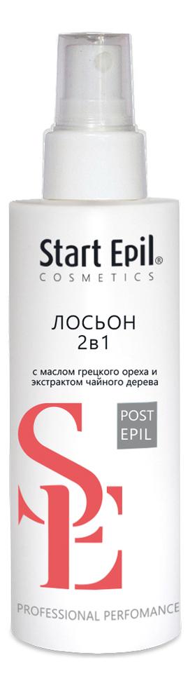 Лосьон против врастания и для замедления роста волос 2 в 1 Start Epil Post Epil 160мл лосьон против врастания волос cristaline