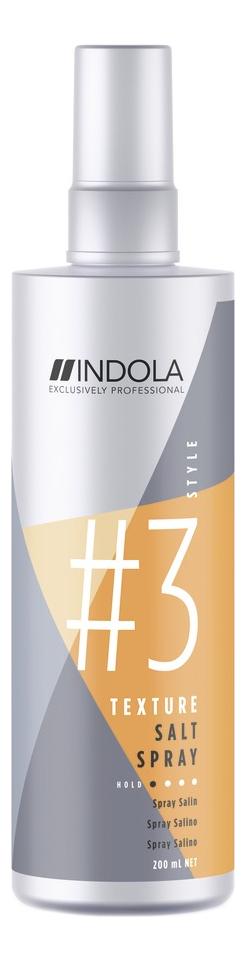 Солевой спрей для волос Innova Style Texture Salt Spray 200мл indola finish gel spray style