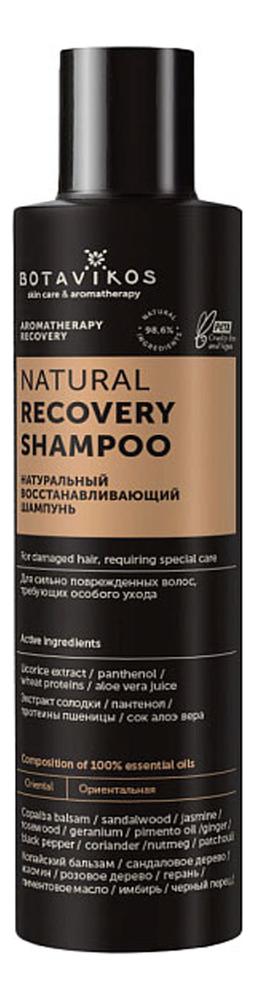 Натуральный восстанавливающий шампунь для волос: Шампунь 200мл шампунь мольтобене