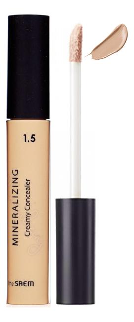 Консилер для маскировки недостатков кожи Mineralizing Creamy Concealer 4мл: 1.5 Cappuccino консилер для маскировки пор mineralizing pore concealer 4мл 1 5 natural beige