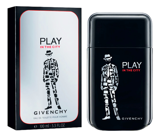 Givenchy Play in the City Pour Homme: туалетная вода 100мл