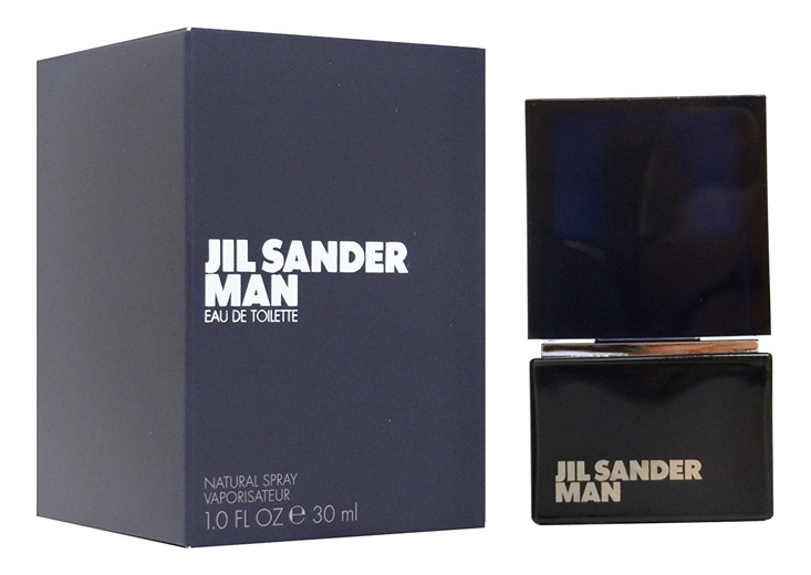 Jil Sander Man (Black): туалетная вода 30мл