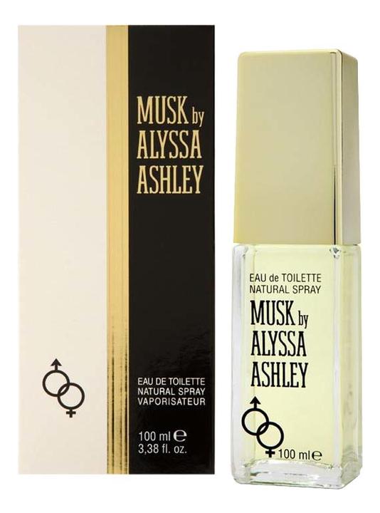 Alyssa Ashley Musk: туалетная вода 100мл пуловер quelle ashley brooke 193109