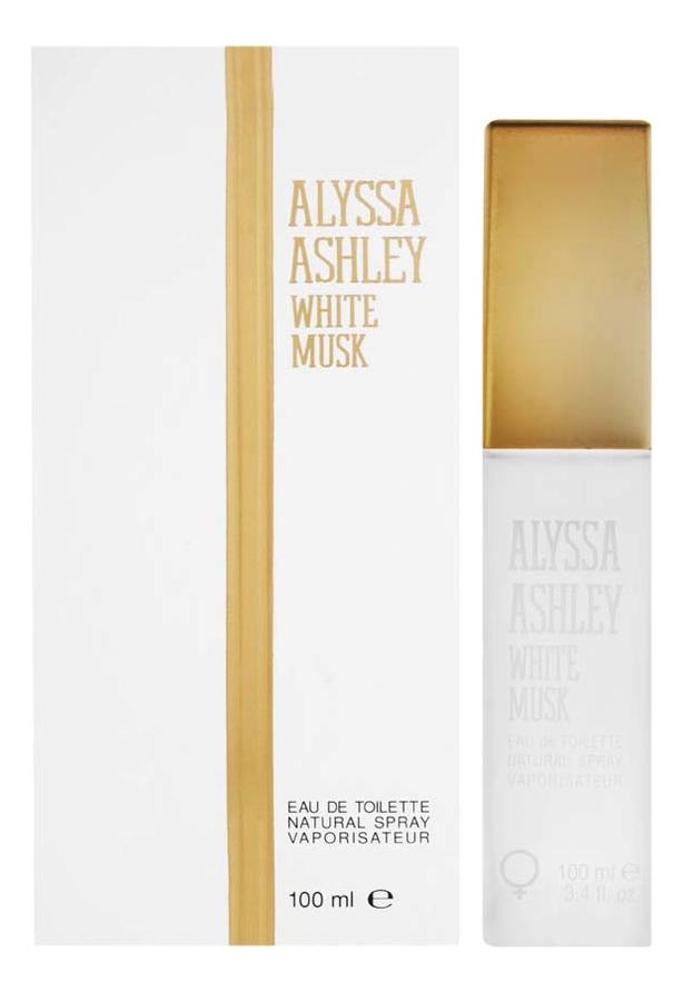 Alyssa Ashley White Musk: туалетная вода 100мл ashley s war