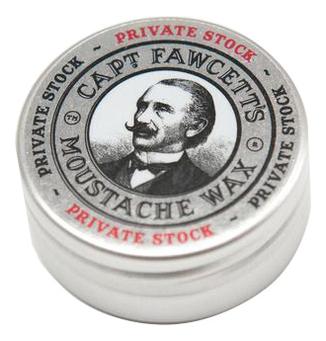 Воск для усов Private Stock Moustache Wax 15мл воск для усов с запахом черного кофе styling wax black coffee 15мл