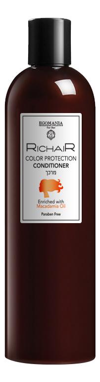Кондиционер для волос Защита цвета Richair Color Protection Conditioner 400мл кондиционер для волос защита цвета richair color protection conditioner 400мл