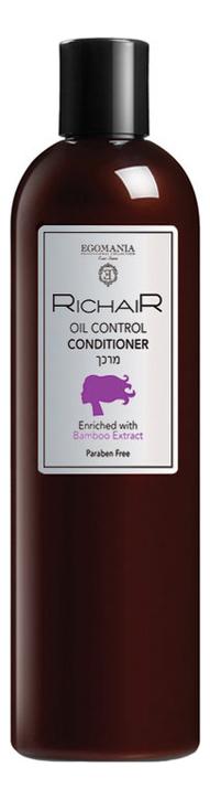 Кондиционер для волос Контроль жирности кожи головы Richair Oil Control Conditioner 400мл кондиционер для волос защита цвета richair color protection conditioner 400мл