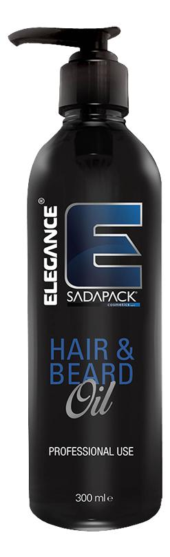 Прозрачное масло для волос и бороды Hair & Beard Oil 300мл