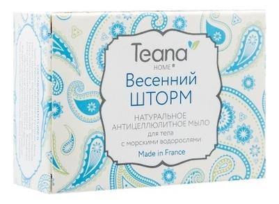 Антицеллюлитное мыло для тела Весенний шторм Home 100г мыло teana teana te022lwvir63