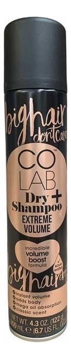 Сухой шампунь для экстремального объема волос Extreme Volume Dry Shampoo 200мл