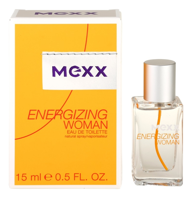 Mexx Energizing for Women: туалетная вода 15мл