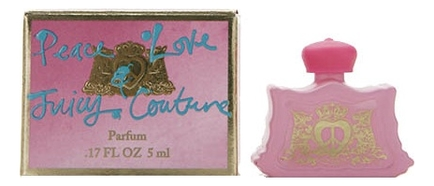 Juicy Couture Peace Love & Juicy Couture: духи 5мл джинсы juicy couture