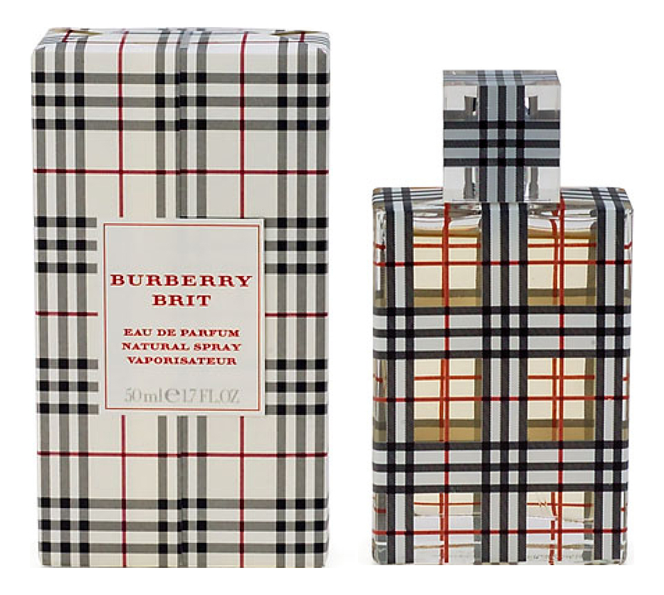 Burberry Brit New Year Edition For Women: парфюмерная вода 50мл