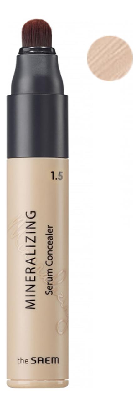 Минеральная сыворотка-консилер для лица Mineralizing Serum Concealer SPF30 PA++ 5мл: 1.5 Natural Beige консилер для маскировки пор mineralizing pore concealer 4мл 1 5 natural beige