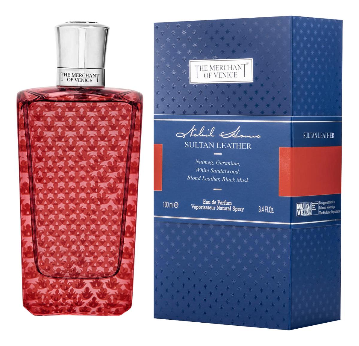 Фото - The Merchant Of Venice Sultan Leather: парфюмерная вода 100мл the merchant of venice mandarin carnival eau de parfum