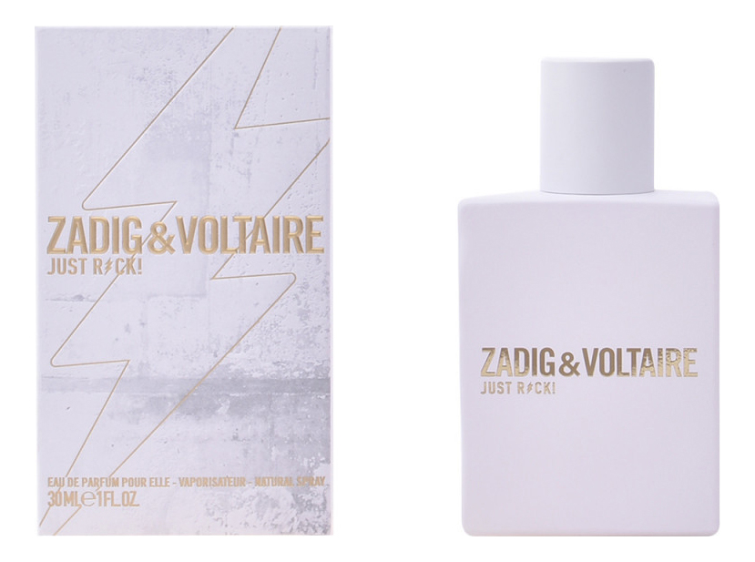 Zadig & Voltaire Just Rock! For Her : парфюмерная вода 30мл футболка zadig voltaire футболка
