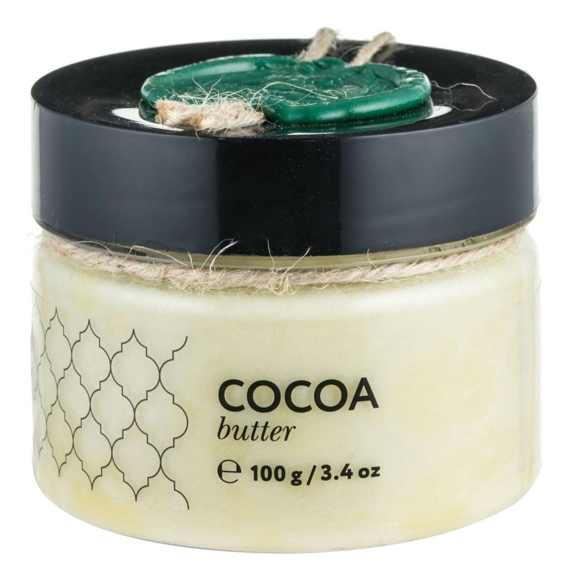 Твердое масло Какао Cocoa Butter: Масло 100г ufeelgood organic cocoa premium butter органическое какао масло 200 г