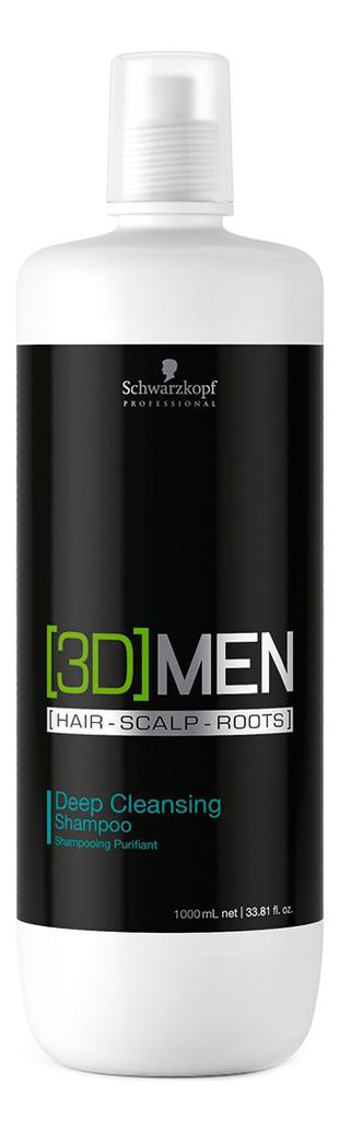 Шампунь для глубокого очищения [3D]Men Deep Cleansing Shampoo: 1000мл