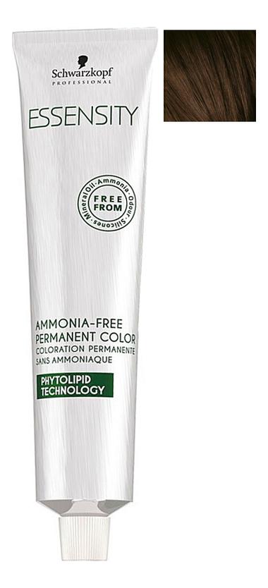 Крем-краска для волос без аммиака Essensity Ammonia-Free Permanent Color 60мл: 4-62 Medium Brown Auburn Ash