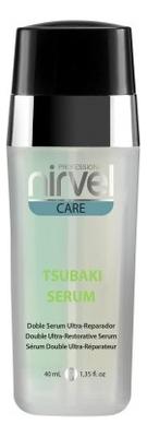 Двухфазная сыворотка для волос с маслом камелии японской Care Tsubaki Serum 40мл nirvel professional сыворотка tsubaki serum для поврежденных волос 40 мл