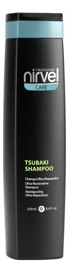Восстанавливающий шампунь для сухих и поврежденных волос Care Tsubaki Shampoo: Шампунь 250мл nirvel professional сыворотка tsubaki serum для поврежденных волос 40 мл