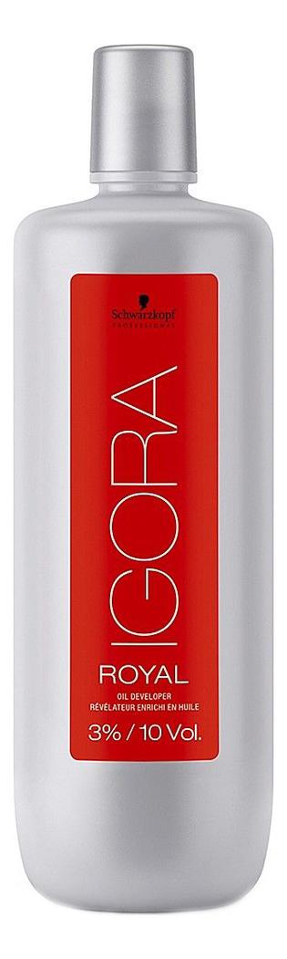 Лосьон-окислитель для волос на масляной основе Igora Royal 3%: Окислитель 1000мл sp igora royal лосьон окислитель для волос 3 6 9 12
