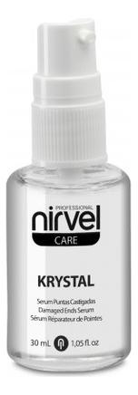 Сыворотка для восстановления кончиков волос Care Krystal Serum 30мл lakme сыворотка для восстановления поврежденных солнцем кончиков волос serum 100 мл