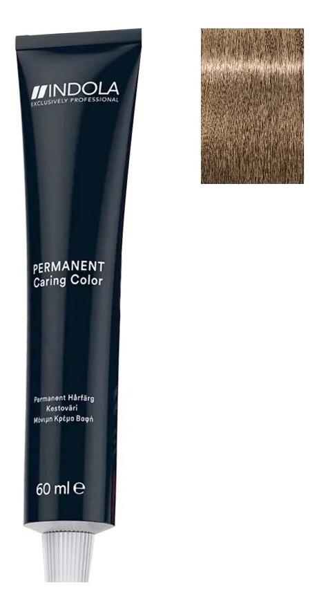Стойкая крем-краска для волос Permanent Caring Color 60мл: 9.82 Блондин шоколадный перламутровый крем краска для волос indola color red