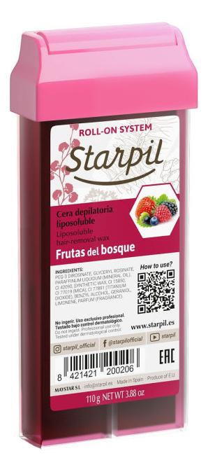 Воск в картридже для чувствительной кожи Лесные ягоды Frutas Del Bosque 110г (прозрачный)