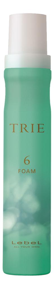 Пена для укладки волос средней фиксации Trie Foam 6 200мл молочко для укладки волос средней фиксации trie milk 5 140мл