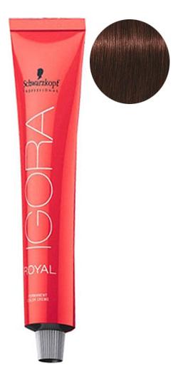 Крем-краска для волос Igora Royal Permanent Color Creme 60мл: 4-68 Medium Brown Chocolate Red крем краска для волос indola color red