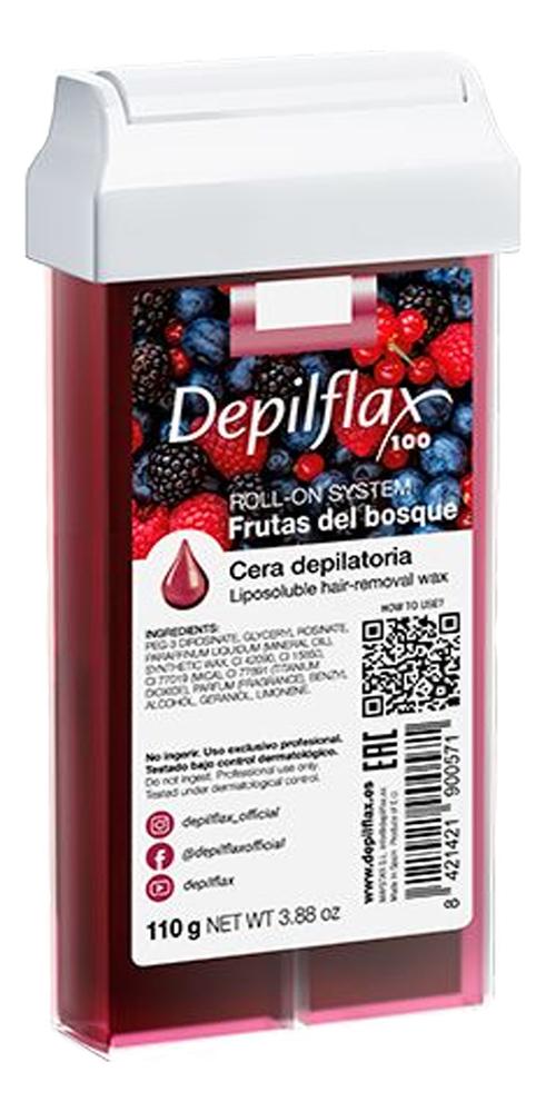 Воск в картридже Лесные ягоды Ftuits Forest Liposoluble Hair Removal Wax 110г (прозрачный)