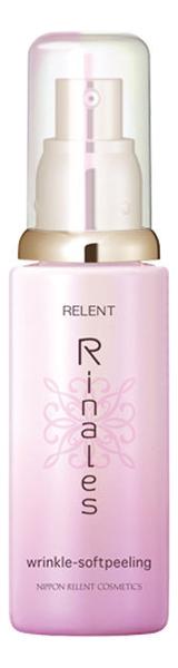 Мягкий скраб для всех типов кожи лица Rinales Wrinkle-Soft Peeling 80мл