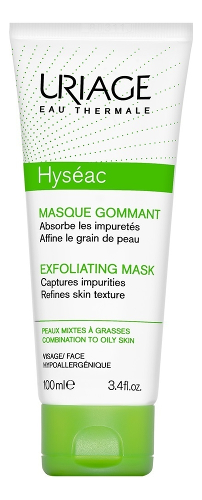 Мягкая отшелушивающая маска для лица Hyseac Masque Gommant 100мл