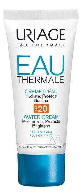 Увлажняющий крем для лица Eau Thermale Creme Deau SPF20 40мл восстанавливающий питательный крем для лица eau thermale creme nutritive revitalisante 50мл