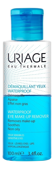 Средство для снятия водостойкого макияжа с глаз Eau Thermale Demaquillant Yeux Waterproof 100мл средство для снятия водостойкого макияжа с глаз 100 мл uriage гигиена uriage