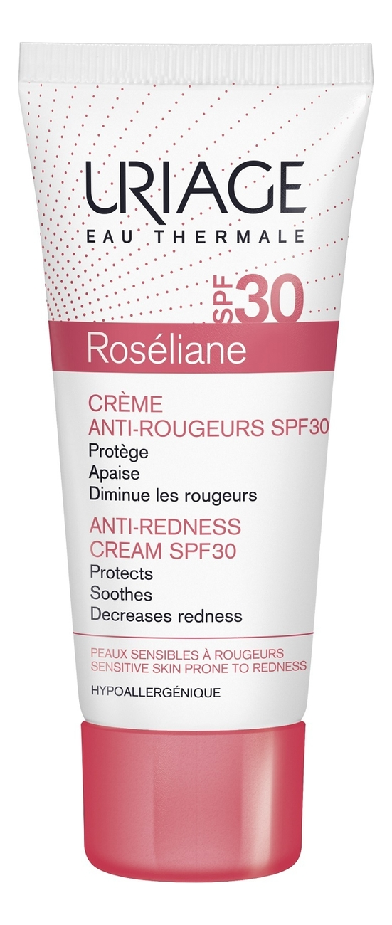 Солнцезащитный крем против покраснений Roseliane Creme Anti-Rougeurs SPF30 40мл