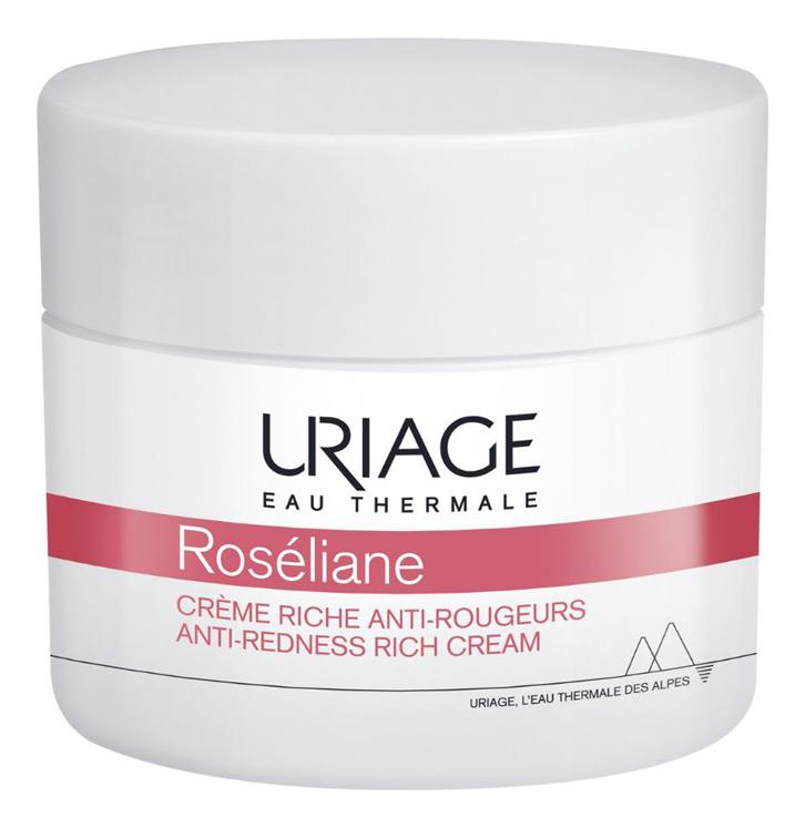 Насыщенный крем для лица против покраснений Roseliane Creme Riche Anti-Rougeurs 50мл