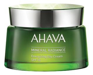 Минеральный дневной крем для лица придающий сияние и энергию Mineral Radiance Energizing Day Cream SPF15 50мл