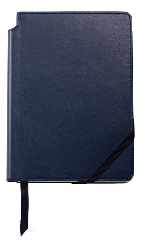 Записная книжка Journal Midnight Blue A5 (160 страниц в линейку) a5 spiral planner notebook diary three fold dokibook pad school office agenda filofax travels sketchbook journal