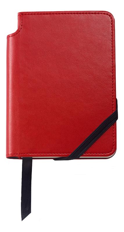 Записная книжка Journal Crimson A5 (160 страниц в линейку) a5 spiral planner notebook diary three fold dokibook pad school office agenda filofax travels sketchbook journal