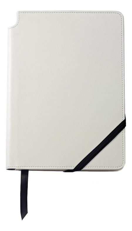 Записная книжка Journal White A5 (160 страниц в линейку) a5 spiral planner notebook diary three fold dokibook pad school office agenda filofax travels sketchbook journal