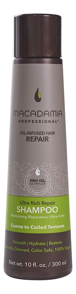 Увлажняющий шампунь для жестких волос Professional Ultra Rich Moisture Shampoo: Шампунь 300мл joico шампунь для сухих волос moisture recovery 300мл