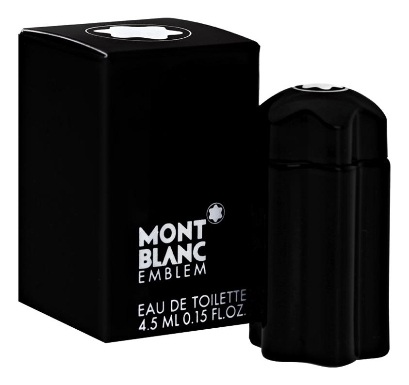 Mont Blanc Emblem: туалетная вода 4,5мл солнцезащитные очки montblanc mont blanc mb 416s 48f