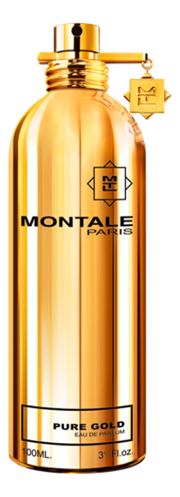 Montale Pure Gold: парфюмерная вода 100мл тестер montale aoud sense туалетные духи тестер 100 мл