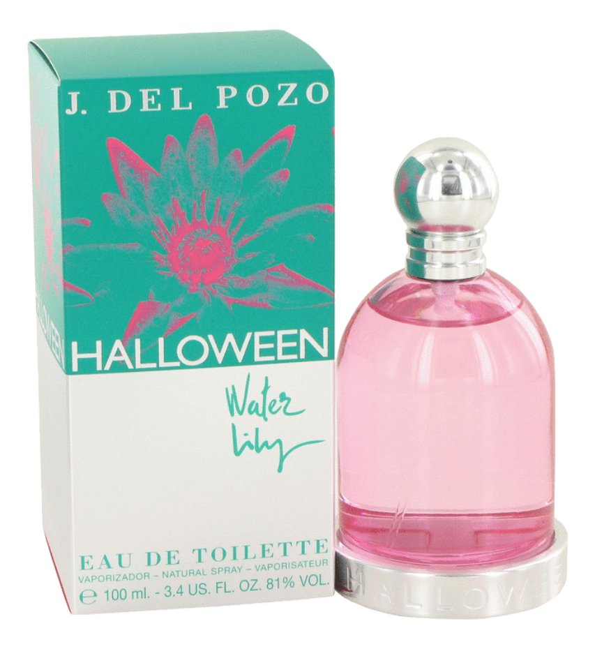 J.Del Pozo Halloween Water Lily: туалетная вода 100мл помада chantecaille hydra chic lipstick water lily цвет water lily variant hex name b05d68
