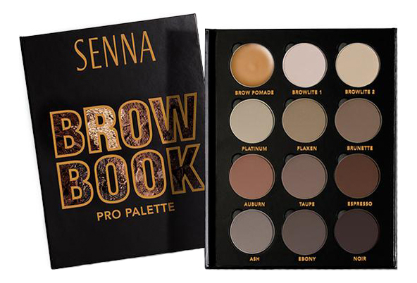 Палетка теней для бровей Brow Book 1 Magnetic Makeup Palette